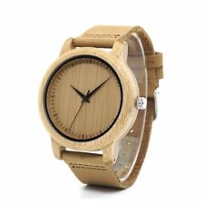 Timepieces Bamboo Couples Watches Handmade Natural Wood Luxury Wristwatches