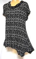 TS top TAKING SHAPE plus sz XS / 14 Cherish Tunic soft easy-care stretch NWT!