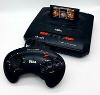 Sega Mega Drive 2 Black Console (PAL) MK-1631-50 + 16 Games + Controller