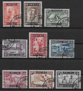 Ruanda-Urundi - 1930 - COB 81/9 - Used -