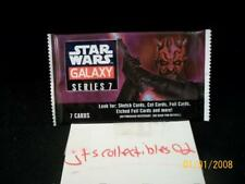 2012 Topps Star Wars Galaxy Series 7 Guaranteed Cel Cell Hot Pack SP