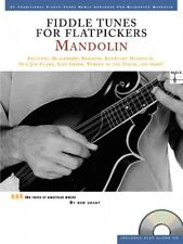 Fiddle Tunes for Flatpickers Mandolin Sheet Music Book and CD NEW 014011276