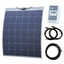 200W Flexible Solar Charging Kit for Motorhome, Caravan, Boat, Yacht or Marine