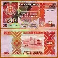 Uganda, 50 Shillings, 1989, P-30 b, UNC