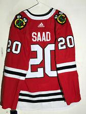 adidas Authentic Adizero NHL Jersey Chicago Blackhawks Brandon Saad Red sz 50