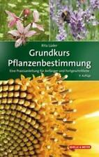Grundkurs Pflanzenbestimmung Rita Lüder Buch Quelle & Meyer Bestimmungsbücher
