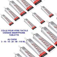 COLLE GLUE ADHÉSIF B-7000 3/10/15/25/50/110 ML VITRE  SMARTPHONE TABLETT 103-108