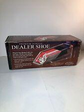 Excalibur 4 Deck Card Dealer Shoe Premium Acrylic Casino Poker Black Jack 429