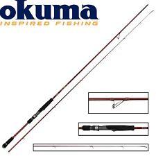 Okuma Egi Pro 245cm 3-20g Spinnrute zum Raubfischangeln, Angelrute für Barsch