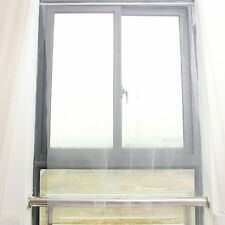DIY White Large Window Screen Mesh Net Insect Fly Bug Mosquito Moth Door Netting
