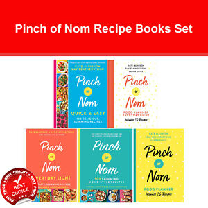Pinch of Nom Recipe Books Set Pinch of Nom Everyday Light, Food Planner NEW
