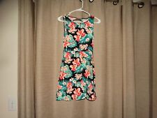 VICTORIA'S SECRET PINK womens sz small multi colored summer dress excellent