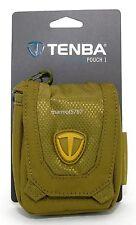 TENBA KRYPTON GREEN VECTOR POUCH 1 CAMERA CASE!! NEW CONDITION!!