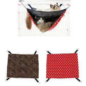 Pet Cat Reversible Hammock Radiator Bed Warm Pad Small Animal Hanging Sleepy Mat