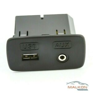 FRONT USB AUX PORT SOCKET JACK FOR SUBARU OUTBACK LIBERTY IMPREZA 86257AJ201