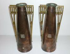 Antikes Paar Vasen - Stil nach Gustave Serrurier Bovy - Jugendstil Art Nouveau