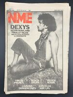 NME 3 July 1982 Dexys Virgin Prunes Black Uhuru Trevor Horne Liasons Dangereuse