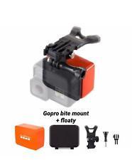 gopro bite mount + floaty