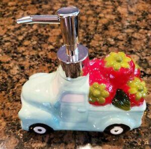 New  Mint Truck Lotion Soap Dispenser Kitchen / Bathroom
