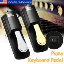 Electric Piano Keyboard Sustain Damper Pedal Foot Switch for Casio Yamaha Roland