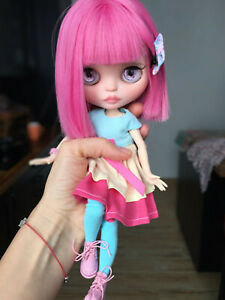 Unique custom blythe Doll OOAK