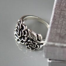 Sterling silver Flower  Ring by Lepos Jewellery