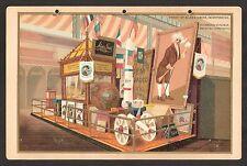 1890's A23 Allen & Ginter Tobacco Card Album Page - Paris Exhibition of 1889 p7