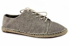 Splendid Women's Lace up Flat Shoes Coconut-RC Canvas Size 7.5 M