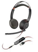Plantronics Blackwire 5220 Black Headband Headsets (Stereo, USB)