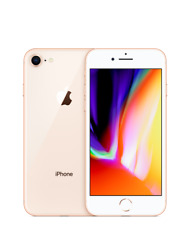 Apple iPhone 8 Gold (A1863) 64GB Tracfone, Straight Talk, Total Wireless