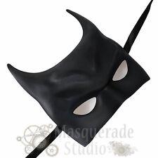 Men's Batman Inspired Costume The Dark Knight Theater Masquerade Mask [Black]