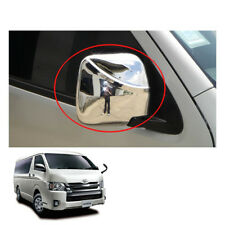 Wing Side Mirror Cover Chrome Hand Adj Fit Toyota Hiace Commuter Van 2005 - 17