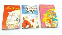 CHILDRENS MUSIC CASSETTE TAPES x 3 CHRISTMAS NURSERY RHYMES COUNTING RAGGED BEAR