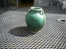 Arts & Crafts Kevin Hicks  Matte Green Grueby Style Vase Craftsman Studios