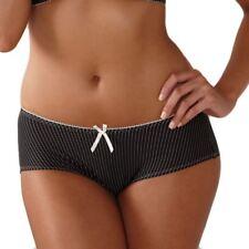 Royce Black/cream Lauren Pinstriped Shorts M