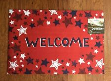 Mohawk Door Mat ''Welcome '' Recycled Rubber 18 in. x 27 in.