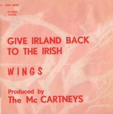PAUL McCARTNEY & WINGS Give Ireland Back To The Irish RARE Collector APPLE 1972