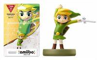 Nintendo amiibo TOON LINK The Legend of Zelda The Wind Waker JP F/S