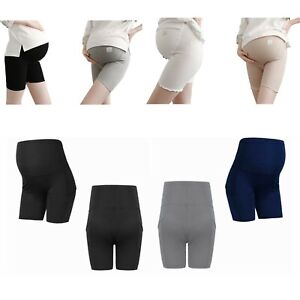 Pregnant Women Summer Shorts Maternity Safety Pants Casual Belly Bottoms Clothes