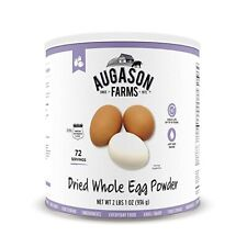Augason Farms Dried Whole Egg Powder Can Prepper Emergency Survival Meal Food