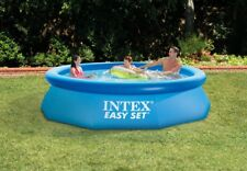 "New 12' X 30"" Intex Inflatable Easy Set Above Ground Swimming Pool 76*366cm"
