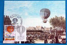 Heißluftballon Frankreich CPA Postkarte maximum Yt 2262 C