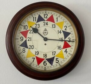 RAF STATION SECTOR CLOCK TYPE II SMITHS ASTRAL MOVEMENT WWII
