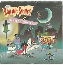 """THE ROLLING STONES~HARLEM SHUFFLE/HAD IT WITH YOU 1986 U.S. 7"""" SINGLE  w/PIC SLV"""