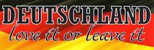 LOVE IT OR LEAVE IT AUFKLEBER   PVC   PATRIOT/DEUTSCHLAND