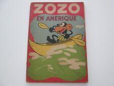 ZOZO EN AMERIQUE 1942 BE/TBE REEDITION