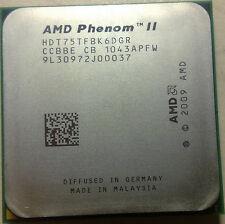 CPU AMD Phenom II X6 1075T CPU/HDT75TFBK6DGR/AM3/Six-Core/125W/6MB PROCESSOR CPU