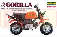 AOSHIMA 1/12 SCALE HONDA  GORILLA BIKE PLASTIC MODEL KIT * NEW STOCK *
