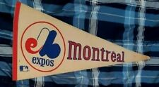 MONTREAL EXPOS VINTAGE 1980S ORIGINAL BANNER WELL STORED