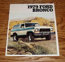 Original 1979 Ford Bronco Sales Brochure 79